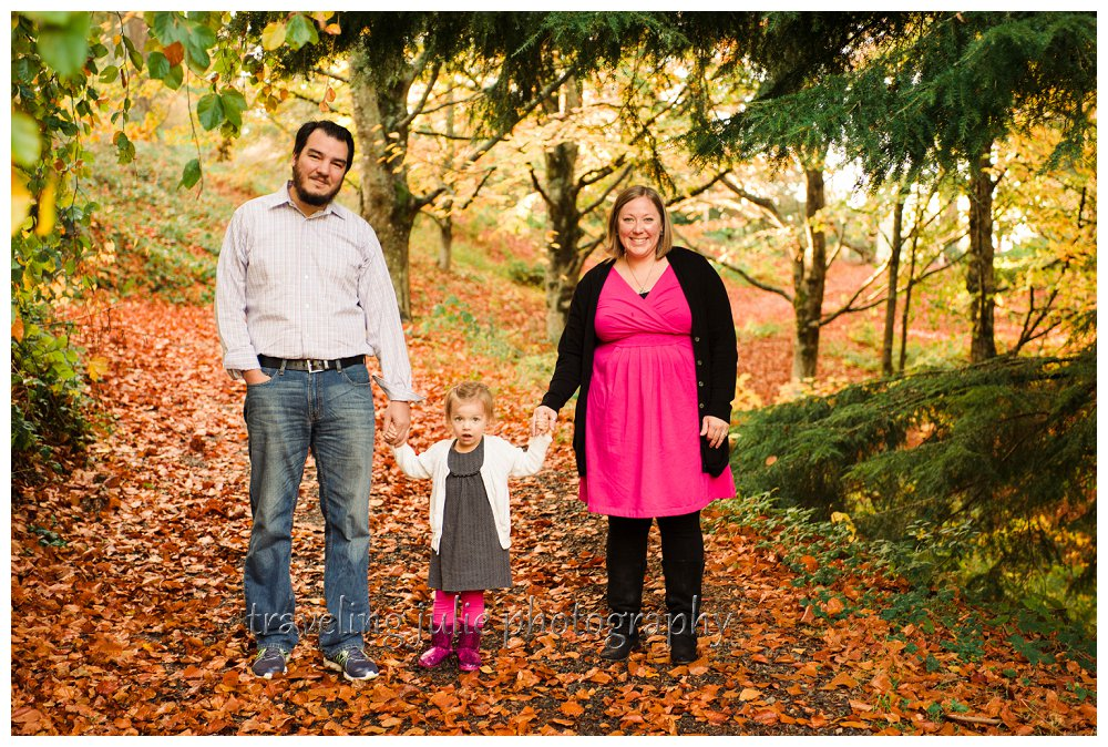 Hoyt Arboretum family photography Portland